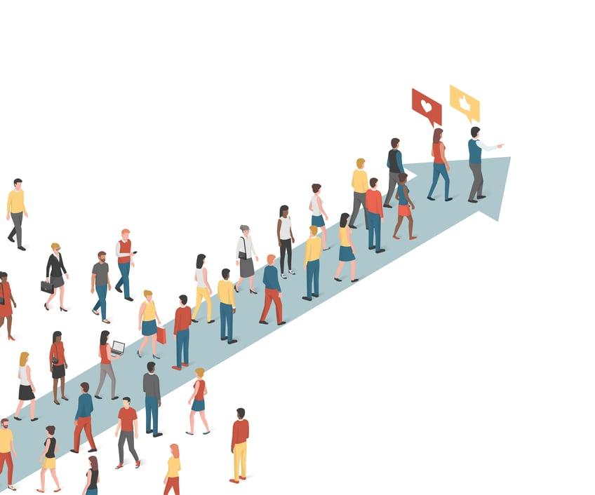 Digital Talent Attraction, Google Analytics Demographic