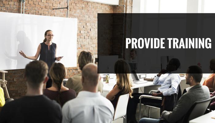 Reduce Staff Retention: Provide Training